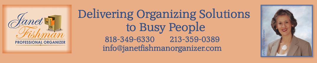 Janet Fishman, Professional Organizer